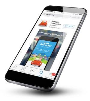 Scarica l'app di carpooling BePooler